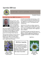 MHA Newsletter – September 2020 Issue